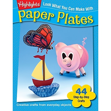 Essential Learning™ Look What You Can Make With Paper Plates Book, Grade PreK - 12