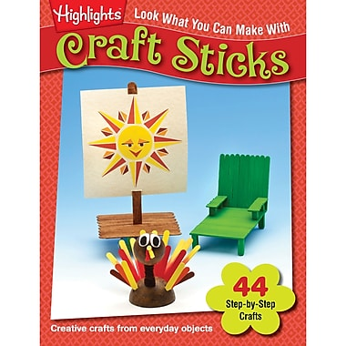 Essential Learning™ Look What You Can Make With Craft Sticks Book, Grade PreK - 12