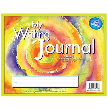 Essential Learning™ Z - B Pastel Swirl Tie Dye Writing Journal, Grade 1