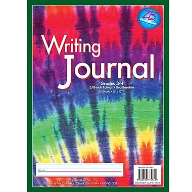 Essential Learning™ Z - B Rainbow Stripes Tie Dye Writing Journal, Grade 3 - 4