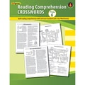 Edupress® Reading Comprehension Crosswords Book, Grades 6