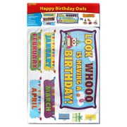 Edupress® Bulletin Board Set, Happy Birthday Owls