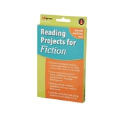 Edupress® Reading Project Fiction Activity Book, Grades 3 and Above