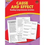 Edupress® Cause and Effect Reading Comprehension Activity Book, Red Level