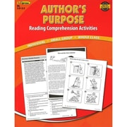 Edupress® Authors Purpose Reading Comprehension Activity Book, Reading Levels 2.0 - 3.5