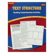 Edupress® Blue Level 3.5-5 Text Structure Reading Comprehension Activity Book