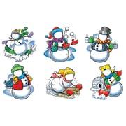 Edupress® 6 x 8 MyFace Bulletin Board Accents, Snowmen