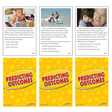 Edupress® Predicting Outcomes Reading Comprehension Flash Cards
