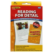 Edupress® Reading For Detail Reading Comprehension Flash Cards