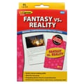 Edupress® Fantasy vs. Reality Reading Comprehension Flash Cards