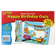 Edupress® Happy Birthday Owls Bookmark Awards
