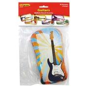 "Edupress® 6"" x 8"" Bulletin Board Accents, Guitars"