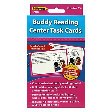 Edupress® Buddy Reading Center Flash Cards, Grade 2 and Above