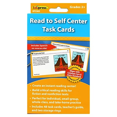 Edupress® Read to Self Center Flash Cards, Grade 2 and Above
