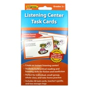 Edupress® Listening Center Task Cards, Grades 2 - 12
