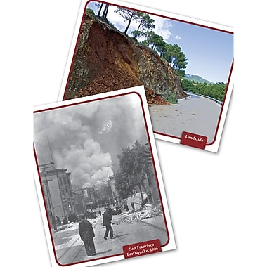 Edupress® Natural Disasters & Occurrences Science Comprehension Cards, 32/Set