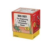Edupress® Bug Out Beginning and Ending Consonants Last One Standing Game, Grades 1 and Above