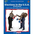 Edupress® Hands On Heritage™ Elections in The U.S.A. Activity Book, Grades 3+