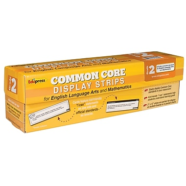 Edupress® Common Core State Standard Display Strips, Grade 2