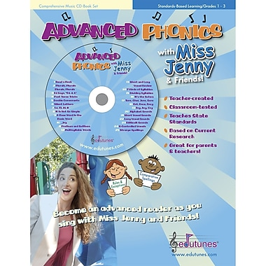 Edutunes Advanced Phonics CD and Book Set
