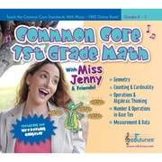 Edutunes® Common Core 1 Grade Math CD Book Set