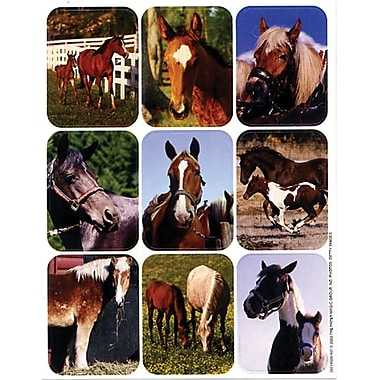 Eureka® Giant Stickers, Horses