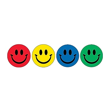 Eureka® Stickers, Smiles
