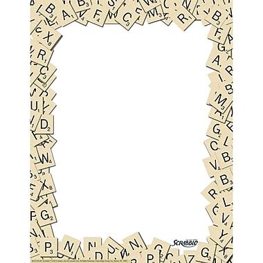 Eureka® Scrabble™ Letter Tiles Computer Paper
