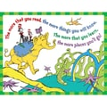 Eureka® 17in. x 22in. Dr Seuss in.The More You Readin. Poster