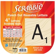 Eureka Scrabble EU-845153 4 Deco Letters, Black