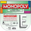 Eureka® Monopoly™ 4in. Deco Letters, White