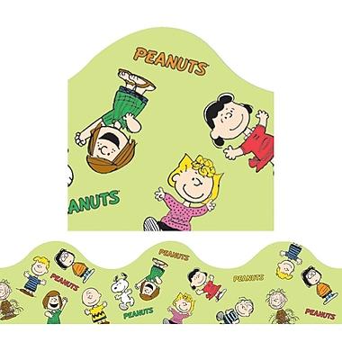 Eureka® Grade Preschool - 8 Peanuts® Gang Scalloped Deco Trimmer, Green