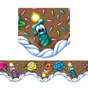 Eureka® Grade Preschool - 8 Birthday Friends Cake Deco Trimmer, Brown