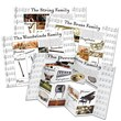 Eureka® Dimensional Bulletin Board Set, Musical Instrument Categories