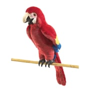 Folkmanis® Scarlet Macaw Hand Puppet, 25