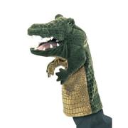 "Folkmanis® Crocodile Stage Puppet, 13"""