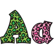 Frog Street 5 Sassy Font Letters, Colorful Leopard