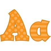Frog Street 5 Sassy Solids Letters, Orange