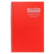 House Of Doolittle® Academic Weekly Assignment Book, Red