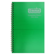 House Of Doolittle® Academic Weekly Assignment Book, Green