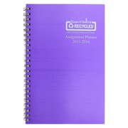 House Of Doolittle® Academic Weekly Assignment Book, Purple