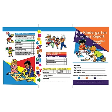 Flipside PreKindergarten Progress Report, 10/Pack