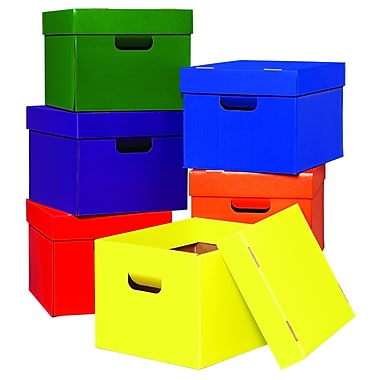 Edupress® Tote/Stow Box, 6/Pack