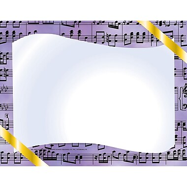 Flipside Music Certificate Border Computer Paper