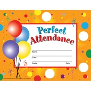 Hayes® Perfect Attendance Certificate/Reward Seal