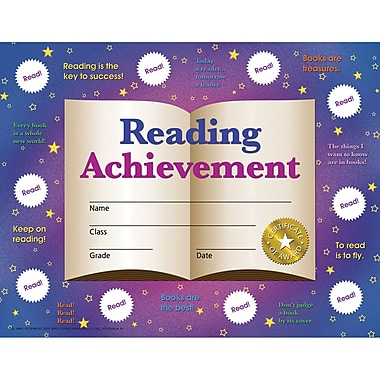 Hayes® Reading Achievement Certificates