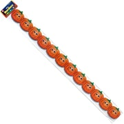 Hygloss Grade Toddler - 6 Happy Pumpkins Classroom Border, Orange