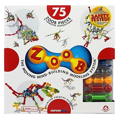 Infinitoy Zoob Construction, 75/Set