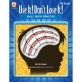 iPg Book Daily Math Practice: Use It! Don't Lose It! Book, Grade 5