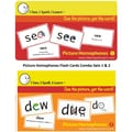 I See, I Spell, I Learn® Set 1 & 2 Flash Cards Combo Pack, Picture Homophones